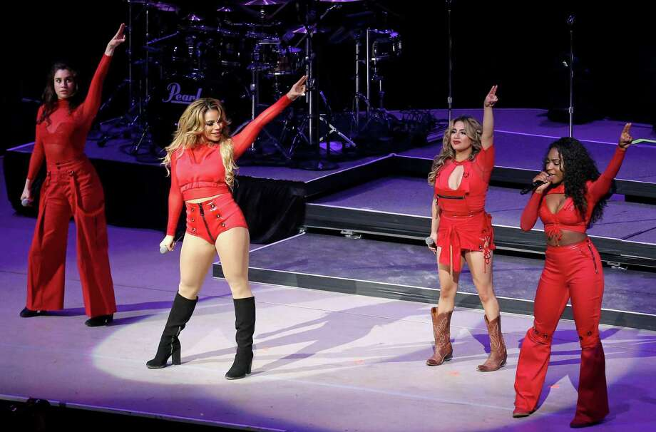 Fifth Harmony performs at the San Antonio Stock Show & Rodeo held Monday Feb. 20, 2017 at the AT&T Center. Photo: Edward A. Ornelas, Staff / San Antonio Express-News / © 2017 San Antonio Express-News