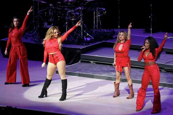 Fifth Harmony performs at the San Antonio Stock Show & Rodeo held Monday Feb. 20, 2017 at the AT&T Center.