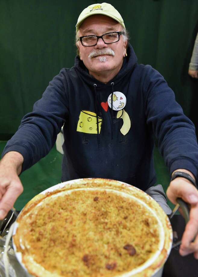 Home cook competition finalist Stephen Piorkowski of Delmar at the 8th Annual Mac-n-Cheese Bowl at Siena College Saturday Feb. 18, 2017 in Colonie, NY.  (John Carl D'Annibale / Times Union) Photo: John Carl D'Annibale / 20039708A