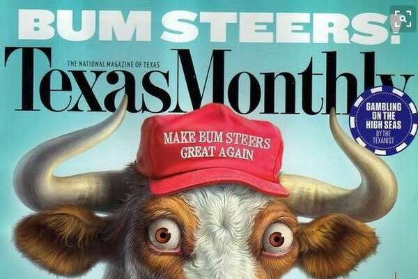 Detail of the January 2017 cover of Texas Monthly.