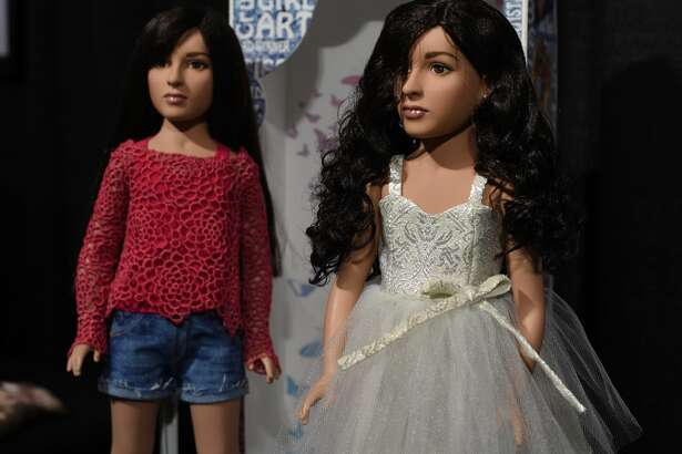 "Tonner Doll, based in Kingston, New York, shows off what it believes is the first transgender doll on the market called the Jazz Jennings doll during the American International Toy Fair in New York on February 19, 2017.  The doll is based on Jazz Jennings, the teenage transgender subject of the TLC documentary series ""I am Jazz."""