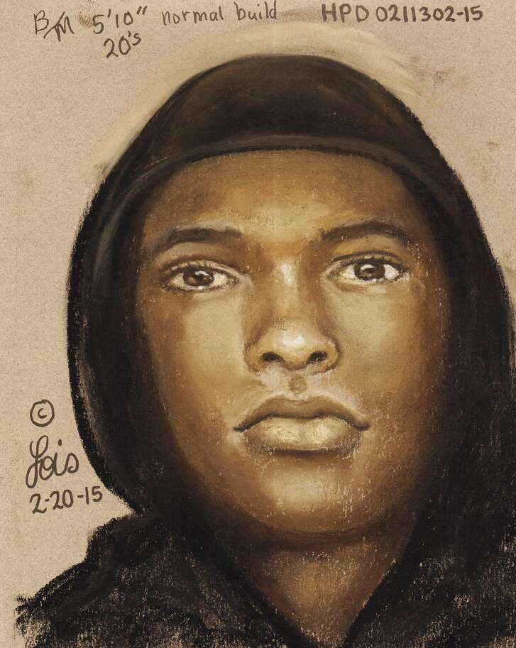Authorities have released a sketch of the suspect in Medrano's murder.