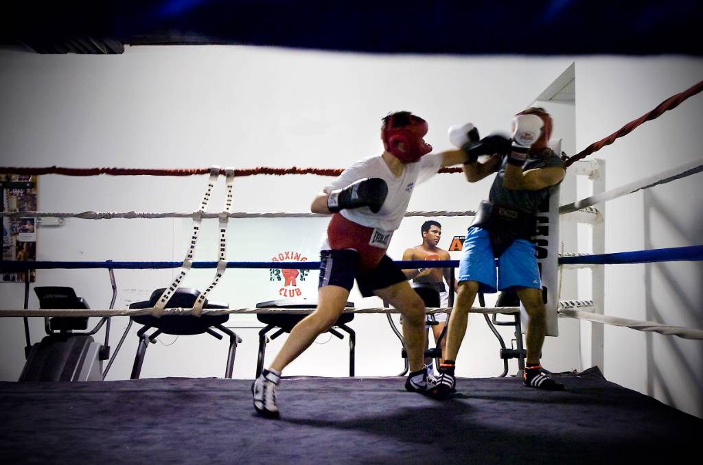 39 white collar 39 boxers to square off connecticut post for Swanson s fish market