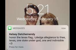 """@lindsay_mcelwee: """"IM SO SHOOK TEXAS LITERALLY HAS A PLEDGE THEY SAY EVERY MORNING I THOUGHT IT WAS A JOKE TEXAS IS A CULT"""""""