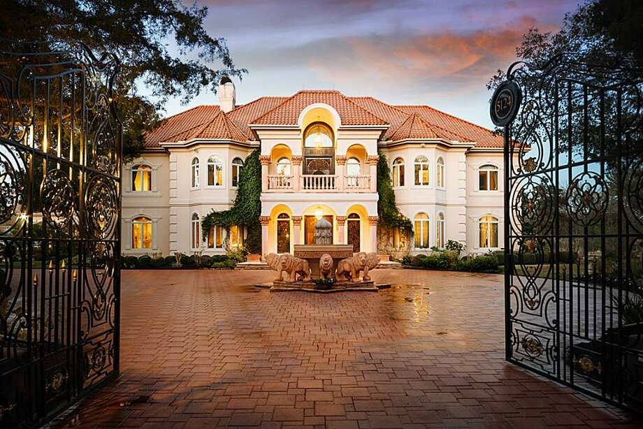 Unique sugar land mansion listing price reduced by nearly for Mansion house price