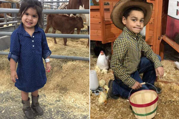 San Antonio little ones are taking over the rodeo's rides, carnival food and mutton busting in their best western wear.