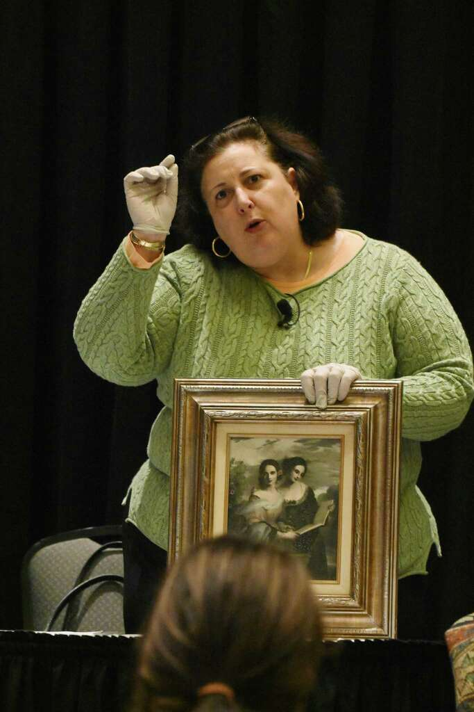 Lori Verderame, an antique appraiser who appears on the Discovery Channel's â