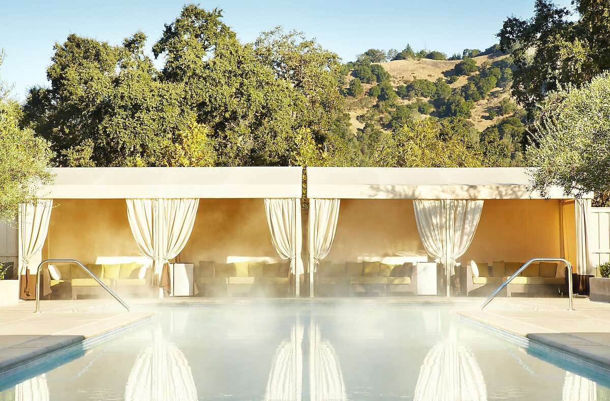 Solage Main Pool: The heated, 130-foot swimming pool at Solage is said to be the longest in Napa Valley.