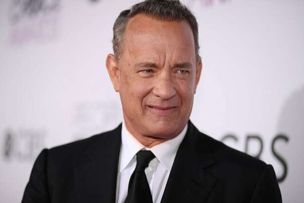 Tom Hanks at the People's Choice Awards on Jan. 18 in Los Angeles.