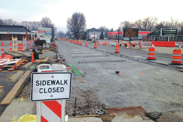 With Tuesday's steady rain, the detour planned on South Buchanan Street from Schwarz Street to the MCT Bike Trail has been moved back one day. Work will now take place on Wednesday fem 6 a.m. until 8 p.m., during which point South Buchanan will be closed. Detour signs have been placed along and advance of the work zone to instruct motorists on alternate routes.