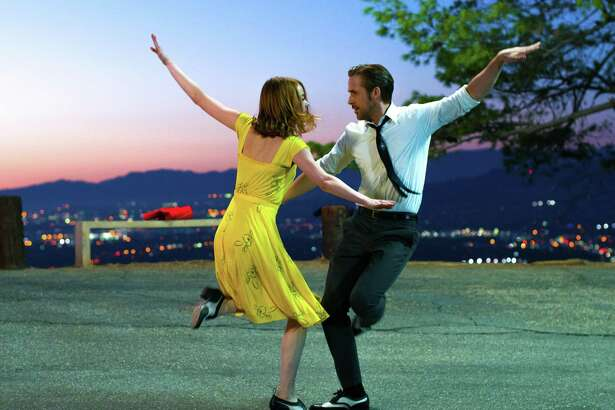 "Emma Stone and Ryan Gosling in ""La La Land,"" an Oscar favorite for 2017."