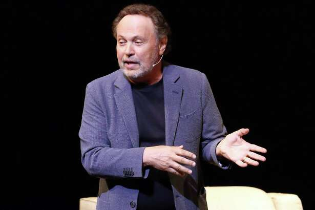 Billy Crystal structures his concert performance Spend the Night With Billy Crystal like an interview.