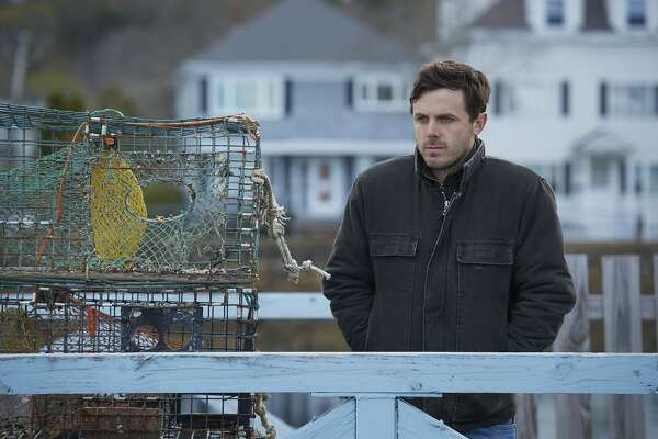 "This image released by Roadside Attractions and Amazon Studios shows Casey Affleck in a scene from ""Manchester By The Sea."" Affleck is nominated for an Oscar for best actor in a leading role for his work in the film.  (Claire Folger/Roadside Attractions and Amazon Studios via AP)"