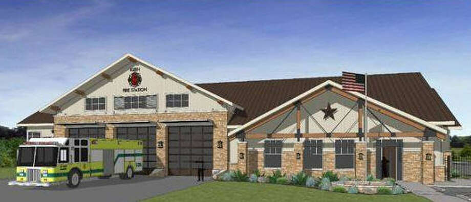 The Klein Volunteer Fire Department broke ground Dec. 10 for its new Station 8 at 9600 Crescent Clover Drive. Photo: Klein VFD