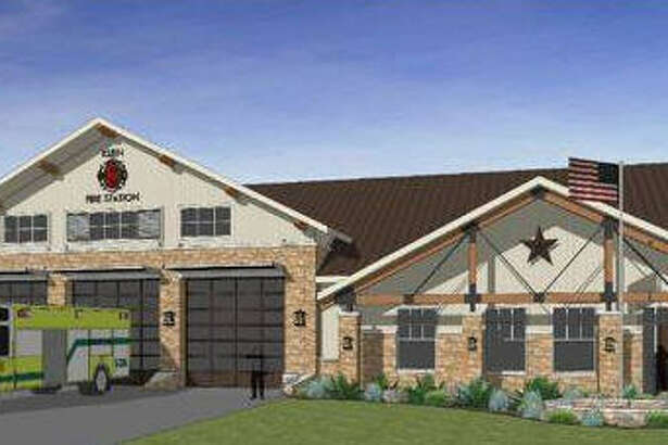 The Klein Volunteer Fire Department broke ground Dec. 10 for its new Station 8 at  9600 Crescent Clover Drive.