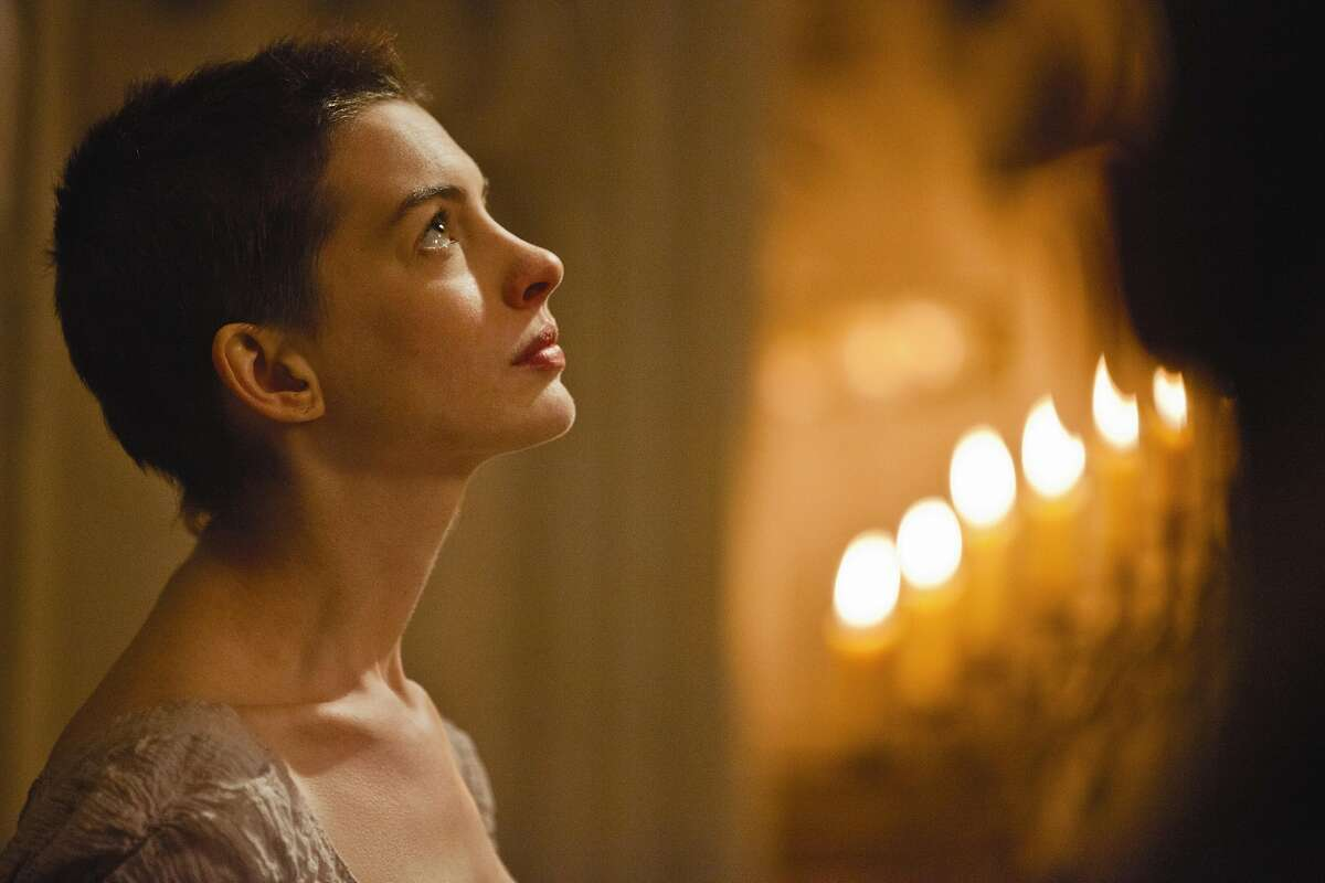 """Anne Hathaway stars in """"Les Miserables."""""""
