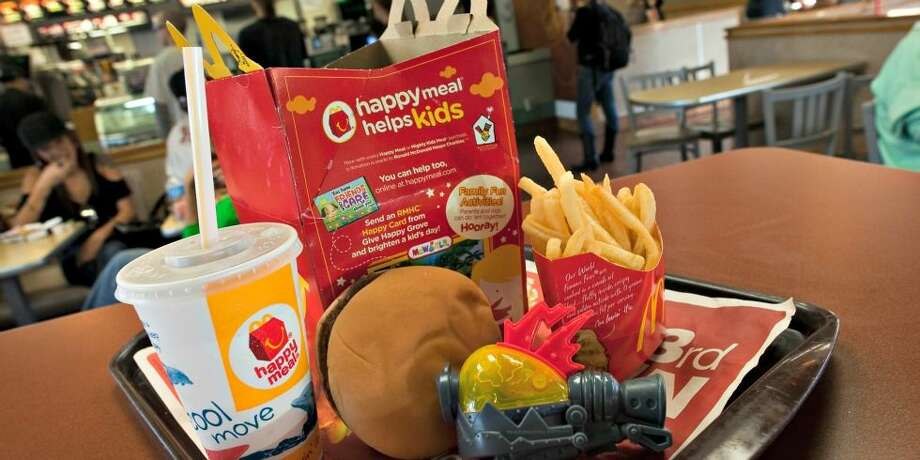 Admit it: There's a good chance you ordered a Happy Meal just to get the toy. Photo: Delish.com