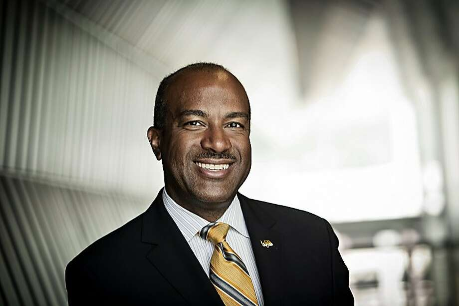 Gary May, dean of engineering at Georgia Tech, where he spearheaded efforts for a diverse campus population, has been tapped to be chancellor of UC Davis. Photo: Nick Burchell, Courtesy Of Georgia Tech