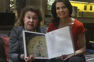 """San Antonio dermatologist Allison Stocker (right) was inspired to become a dermatologist because of her godmother Nia Terezakis (left), also a dermatologist. Terezakis, who lives in New Orleans, wrote the book, """"Artful Feast: An Elegant Lifestyle for Dining."""" It is filled with recipes from her own collection and from friends that can be made quickly to entertain at the last minute."""