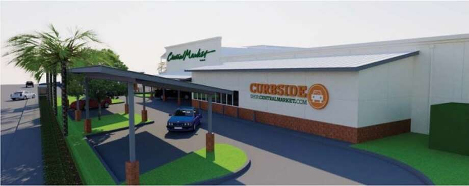 A curbside pickup station should be operation by summer at Central Market on Westheimer. Photo: Central Market