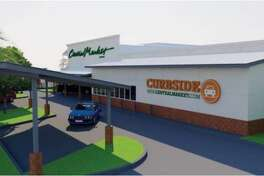 A curbside pickup station should be operation by summer at Central Market on Westheimer.