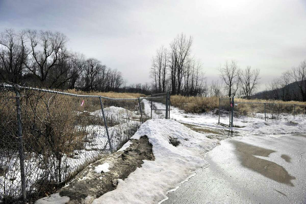 Bethel Planning and Zoning Commission is holding a public hearing on a plan to put solar panels at the former landfill on Sympaug Road. The site is next to the Bethel Transfer Station, Tuesday, February 21, 2017.