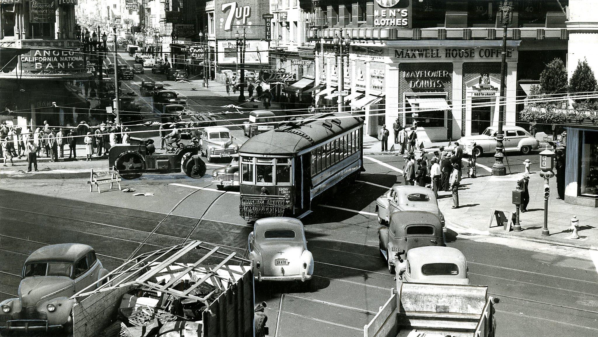 Rare Unseen Downtown San Francisco Photos Show City Life