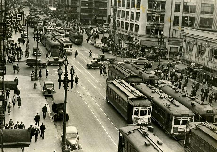 Historical SF base headway averages (9 a.m. to 5 p.m.)