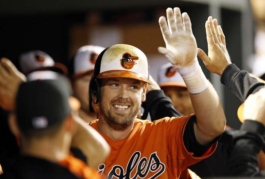 Matt Wieters, a four-time All-Star, had played his entire career with Baltimore. Photo: Patrick Semansky, Associated Press