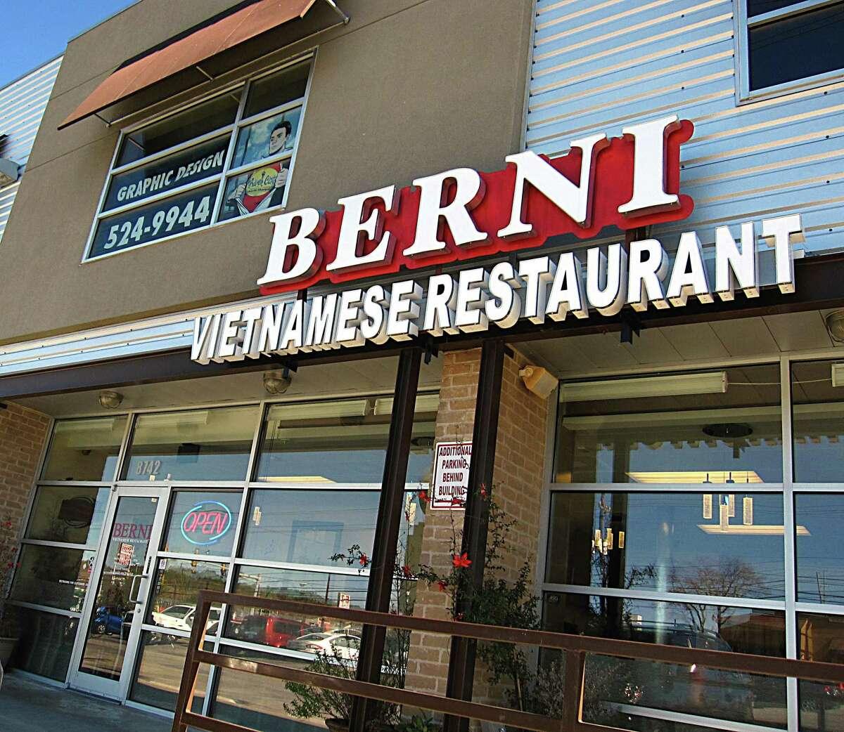 Berni Vietnamese Restaurant is named for Berni, the rabbit mascot of the European soccer championships.