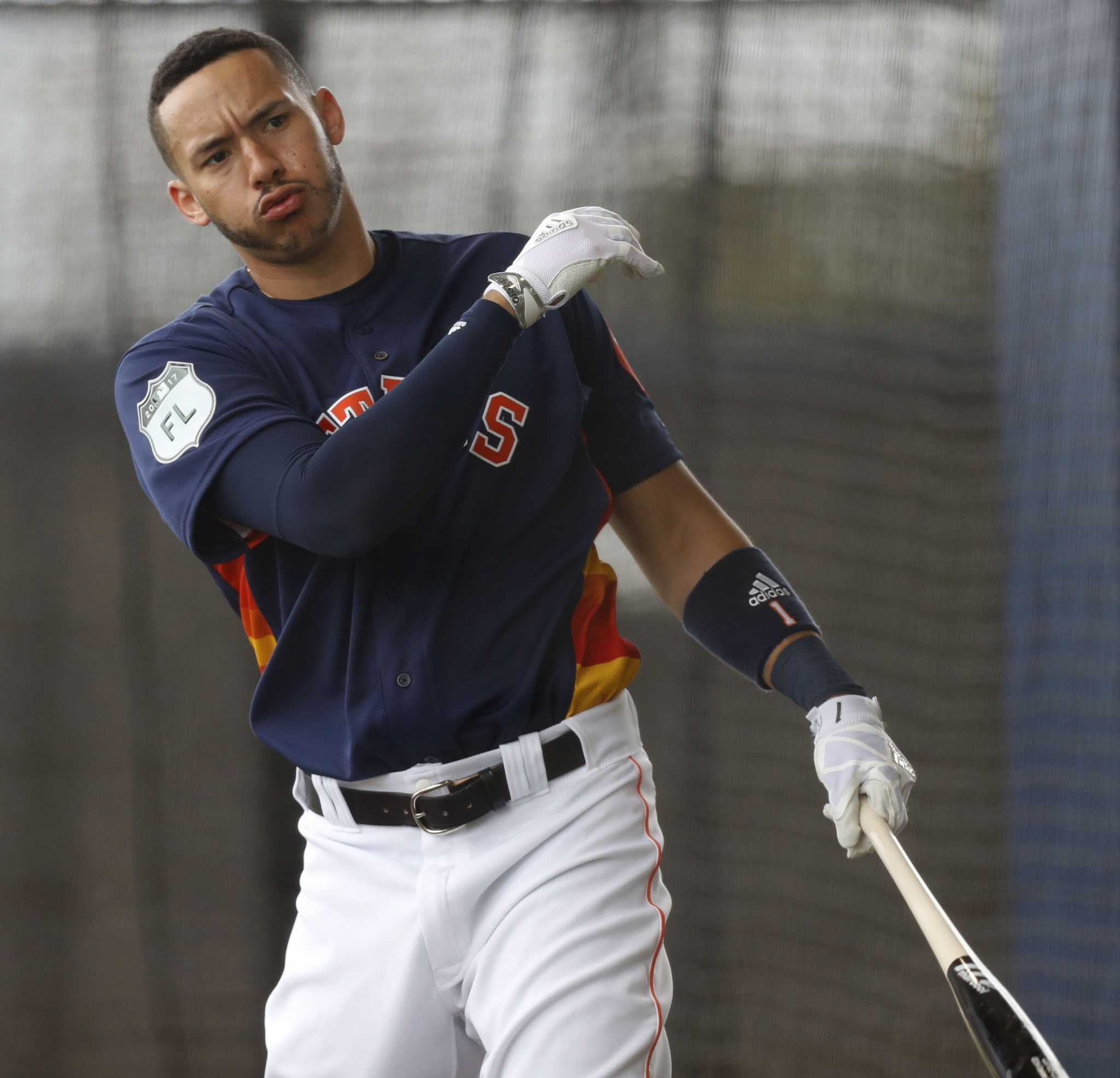 Astros report: Carlos Correa itching for a full workout ...