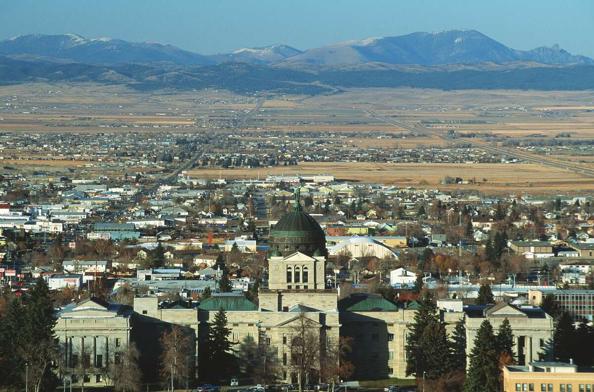 13. Montana Taxes paid as percentage of income: 8.7 percent Income per capita: $45,385 (17th lowest) Income tax collections per capita: $1,137 (19th highest) Property tax collections per capita: $1,509 (19th highest) General sales tax collections per capita: $0 (tied - the lowest)