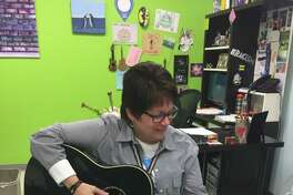 Lourdes Jimenez is the Communities in Schools Project Manager for Spring Forest Middle School. She helps provides services to students. Jimenez enjoys playing the guitar, which she plays with several students after school.