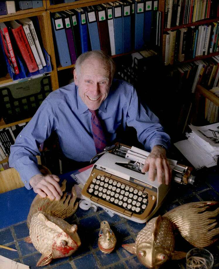"""**FILE** In this Jan. 5, 1998 file photo, publisher Barney Rosset, 75, poses with some of his favorite things in his New York loft. Rosset, the publisher and First Amendment defender whose battles on behalf of Henry Miller's """"Tropic of Cancer"""" and other explicit works helped overturn U.S. censorship laws, has won an honorary National Book Award for """"Outstanding Service to the American Literary Community."""" (AP Photo/Jim Cooper, file) Photo: Jim Cooper, File, AP"""