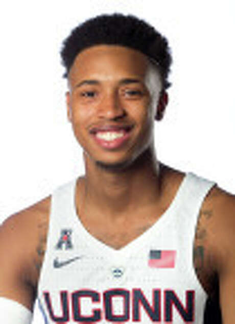 Jalen Adams, Connecticut basketball Photo: Stephen Slade / Stephen Slade