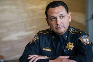 Harris County Sheriff Ed Gonzalez poses on Tuesday, Feb. 21, 2017, in Houston. ( Brett Coomer / Houston Chronicle )