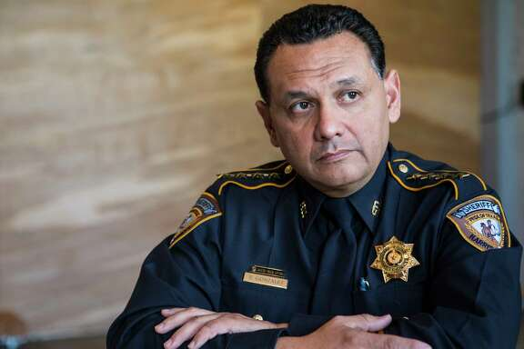 Harris County Sheriff Ed Gonzalez poses on Tuesday, Feb. 21, 2017, in Houston. ( Brett Coomer / Houston Chronicle )