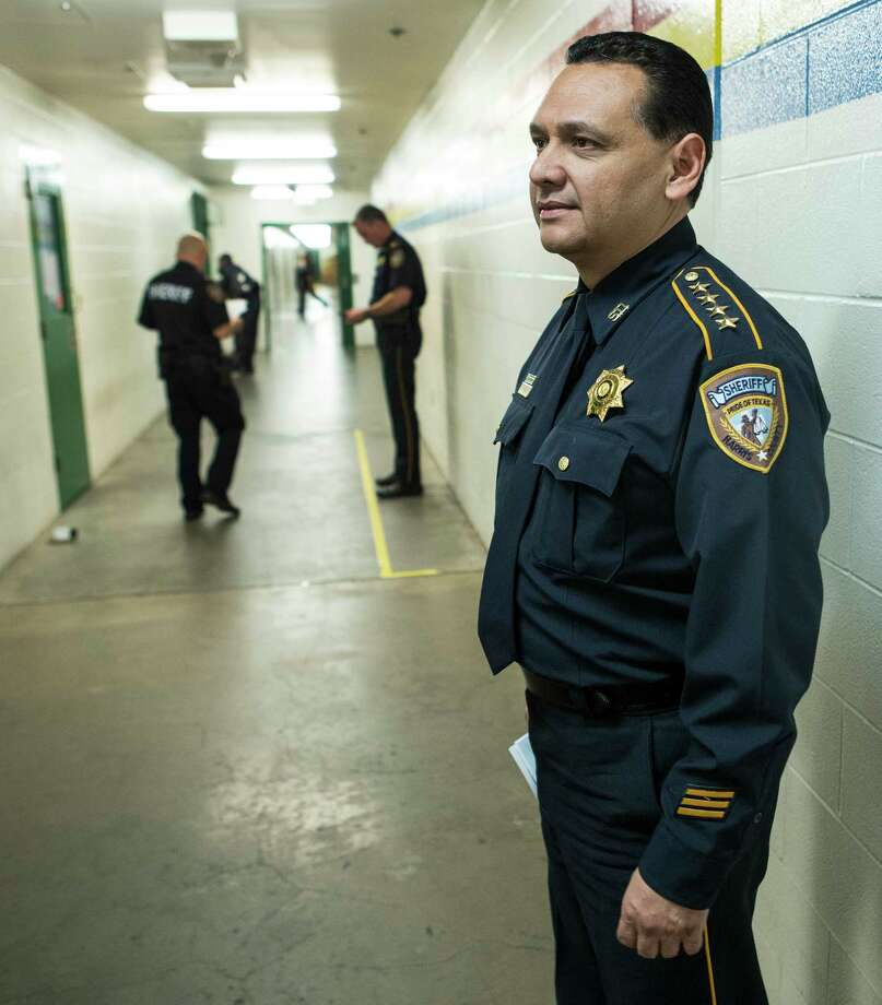 Sheriff Ed Gonzalez says jail overcrowding has forced him to deploy ICE-trained deputies elsewhere. Photo: Brett Coomer, Staff / © 2017 Houston Chronicle