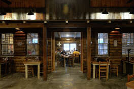 part of the dining area at Catfish Cabin in Lumberton. The restaurant was remodeled after an August fire damaged most of the interior.  Photo taken February 01, 2017 Guiseppe Barranco/The Enterprise