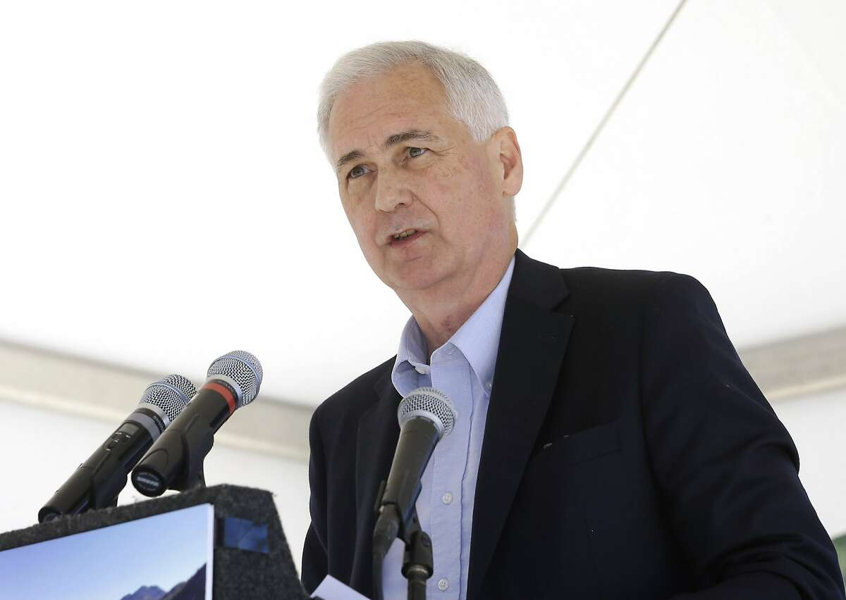 FILE - In this Aug. 24, 2015 file photo, Rep. Tom McClintock, R-Calif. speaks in South Lake Tahoe, Nev. Republicans insisted Monday, Feb. 6, 2017, that they�re moving ahead on their effort to void the health care law, even as President Donald Trump�s latest remarks conceded that the effort could well stretch into next year. (AP Photo/Rich Pedroncelli, File)