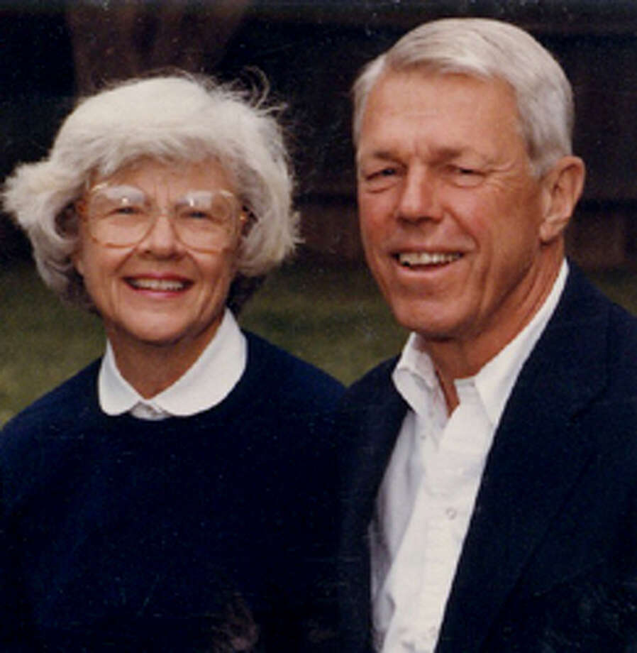 Jane and John Wold (Photo Courtesy of Union College) Photo: HAND OUT / TIMES UNION