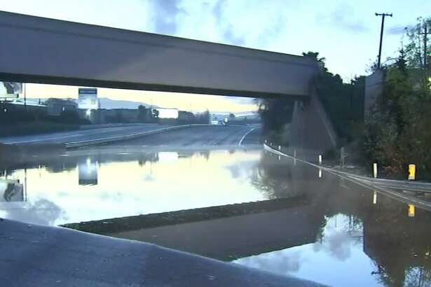 U.S. Highway 101 is closed in both directions in San Jose  because of flooding. As  of 4:40 a.m., Highway 101 is closed in both directions between  Interstate Highway 880 and the Interstate Highway 280 and Interstate  Highway 680 interchange.