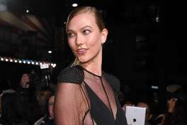 Karlie Kloss attends The Naked Heart Foundation's London's Fabulous Fund Fair at The Roundhouse on February 21, 2017 in London, United Kingdom.