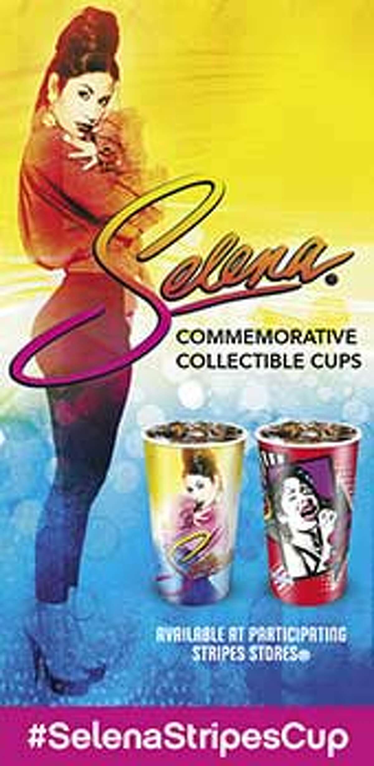 Stripes Convenience Stores is giving fans the opportunity to sip Selena-style with a new line of limited edition cups.
