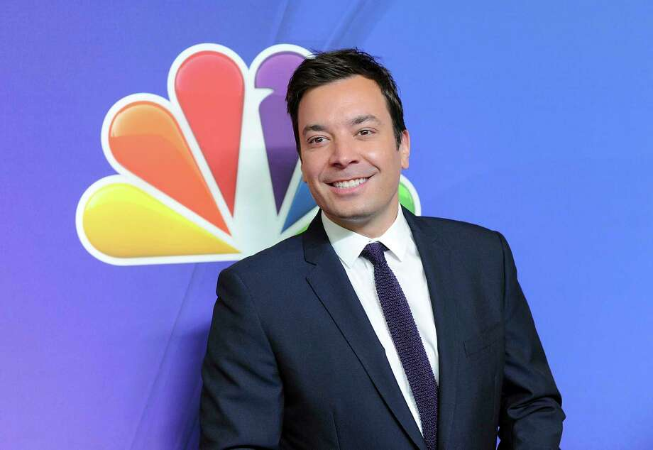 "In this May 12, 2014 file photo, ""The Tonight Show"" host Jimmy Fallon attends the NBC Network 2014 Upfront presentation at the Javits Center in New York. Fallons told The Associated Press Wednesday, Feb. 22, 2017, that he donated $100,000 to his high school alma mater, Saugerties High School in upstate New York. (Photo by Evan Agostini/Invision/AP, File) Photo: Evan Agostini / Invision"