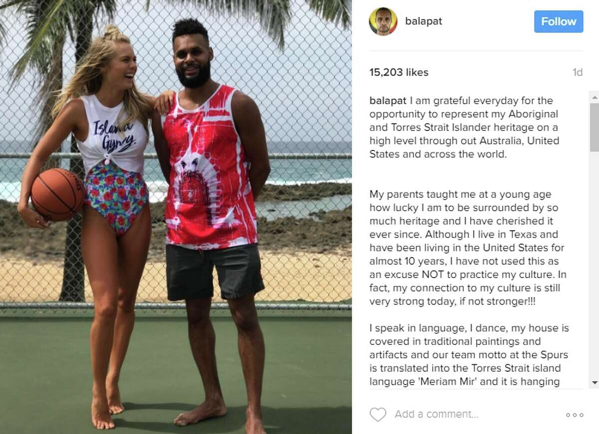 Mills spent most of his break in Hawaii, supporting the launch of his girlfriend Alyssa's swim suit line @balapat: I am grateful everyday for the opportunity to represent my Aboriginal and Torres Strait Islander heritage on a high level through out Australia, United States and across the world.
