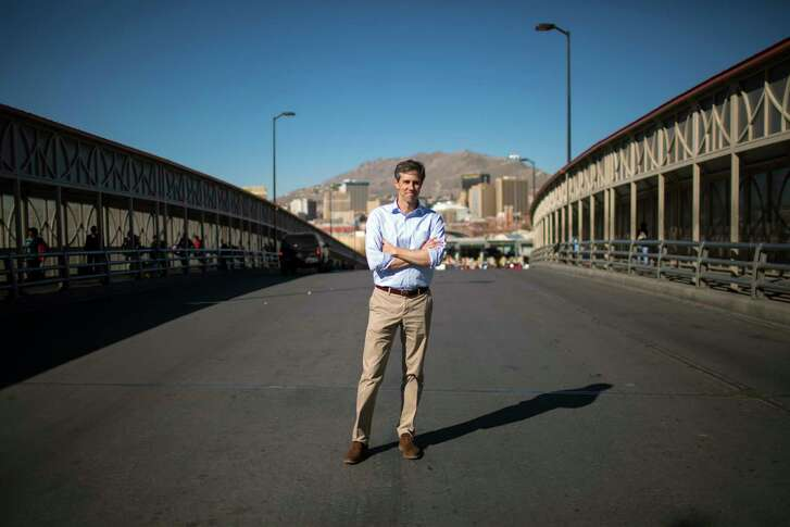 Rep. Beto O'Rourke, D-Texas, a possible challenger to Sen.Ted Cruz, R, in 2018, argues that a fluid border between El Paso and Juarez, Mexico, has been good for both cities. MUST CREDIT: Photo by Ivan Pierre Aguirre for The Washington Post