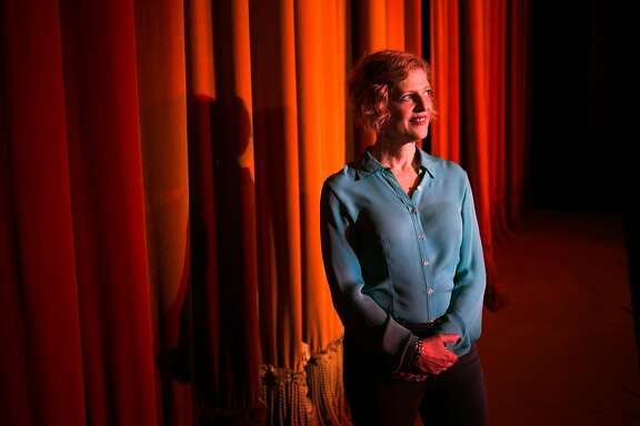 A.C.T. Artistic Director, Carey Perloff, photographed at the A.C.T.'s Geary Theater in San Francisco, Calif. Tuesday, February 21, 2017.