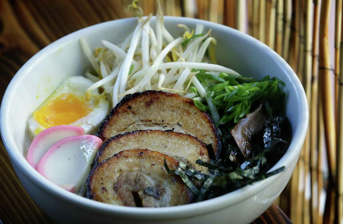 The Tonkotsu ramen at Kimura, a Japanese noodle house from the Gwendolyn owner Michael Sohocki, in 2013.
