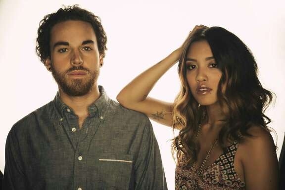 Carissa and Michael Alvarado, aka Us the Duo, perform Friday at House of Blues.